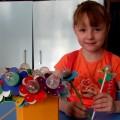 Мастер-класс «Изготовление цветочка-погремушки»