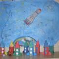 День космонавтики во второй младшей группе