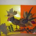 Выставка художественного творчества «Осенние фантазии». Совместная работа родителей и детей старшей группы (фотоотчет)