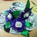 Мастер-класс «Мини-шляпки»