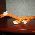 Мои работы в технике «модульное оригами»
