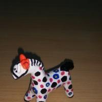 Мастер-класс «Дымковская игрушка лошадка»