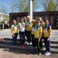 Празднование Дня Победы в городе Волгореченске