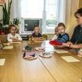 Фотоотчёт занятия по конструированию «Чудесный мешочек» в старшей группе