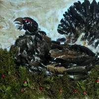 «Осенняя пора». Фотоотчет о выставке поделок из природного материала в ДОУ
