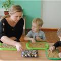 Игры с песком и водой с детьми младшего дошкольного возраста