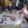Коллективная работа из природных материалов «Осенний букет»