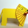Поделка–сувенир из бумаги «Лев»