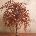 Мастер-класс. Дерево из бисера «Осенний вальс»