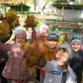 Осенняя прогулка «Наблюдение за листопадом» (средняя группа)