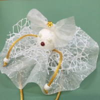 Мастер-класс «Снежинка-куколка»