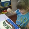 Фотоотчет о подготовке к юбилею нашего поселка. Конкурс рисунков «Люблю свой край родной»