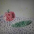 НОД с применением нетрадиционной техники рисования (метод тычка) «Я рисую овощи»