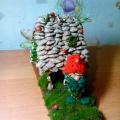 Поделка из природного материала «Домик Лесовичка»