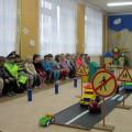 Развлечение по ПДД «Баба-яга и светофор» (фотоотчет)