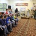 Патриотическое воспитание дошкольников. Фотоотчёт экскурсии детей в школьный музей «История поколений»