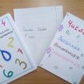 Наш первый проект по математике «Числа в загадках, пословицах и поговорках» (фотоотчёт)