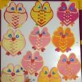 Мастер-класс по аппликации из цветной бумаги «Валентинка «Сова» в подарок родным и близким»