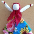 Мастер-класс по изготовлению лоскутной куклыМасленицы
