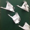 Мастер-класс по изготовлению журавля-красавки из бумаги