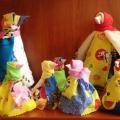 Мастер-класс по изготовлению народной тряпичной куклы «Каркуша»