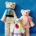 Мастер-класс по изготовлению медведя из полотенца.