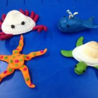 Лепка из пластилина в средней группе на тему «Обитатели морей и океанов»