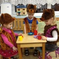 Фотоотчет о проведении Дня Медведя в средней группе.