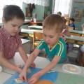 Мастер-класс по изготовлению картины из соленого теста «Под грибом»