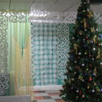 Оформление музыкального зала к новогодним утренникам