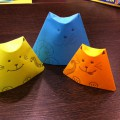 Учимся делать кошек-матрешек. Оригами. Мастер-класс