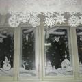 Новогоднее украшение окон в детском саду