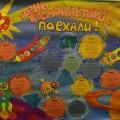 Стенгазета ко Дню космонавтики «День космонавтики. Поехали!»