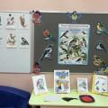 Конспект занятия «Зимующие птицы». Аппликация «Снегирь»