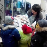 Фотоотчет об экскурсии детей в парикмахерскую