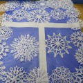 Мастер-класс «Снежные узоры на окне»