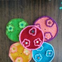Дидактическая игра по развитию сенсорных способностей у детей раннего возраста «Цветочная поляна» своими руками
