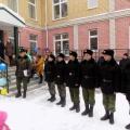 «Зарница» с участием кадетов