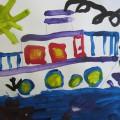 Мастер-класс рисование в старшей группе «Корабль»