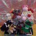 Кукольный театр на ложках по стихотворению С. Я. Маршака «Сказка о глупом мышонке»