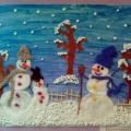 Выставка рисунков «Зима»