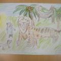 Выставка рисунков «Мир детства глазами Корнея Чуковского» в подготовительной группе (фотоотчет)