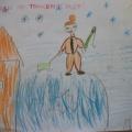 Рисунки детей «Не ходи по тонкому льду!» Фотоотчет