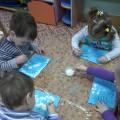 «Снег идет». Конспект НОД по изобразительной деятельности (рисование) в первой младшей группе