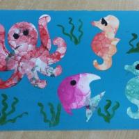 Конспект занятия по рисованию мыльными пузырями «Морские обитатели»