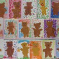 Конспект занятия с использованием нетрадиционных техник рисования «Плюшевый медвежонок» (старшая группа)