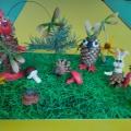 Мастер-класс по изготовлению поделки из природного материала «Этот волшебный лес»
