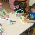Конспект интегрированного занятия в средней группе на тему «Первоцветы»