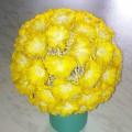 «Цветочный шар» из бумажных салфеток. Мастер-класс