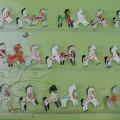 Конспект занятия по рисованию в старшей группе «Дымковская лошадка»